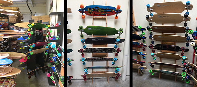 Some of the great Ehlers Longboards