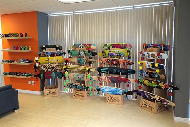 Lobby Stella Longboards