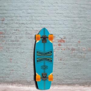 Stella longboard Mini Cruiser Putzer Blue